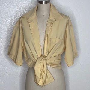 Vintage Dior 90s Y2K button down shirt S